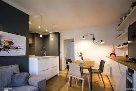 amenagement cuisine salon 20m2 salon 20m2 stunning amenager salon cuisine m free comment amenager