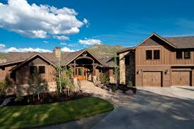 ranch style homes keystone ranch home brasada ranch style homes rustic exterior
