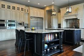 white kitchen with black island white kitchen with black island ghanko