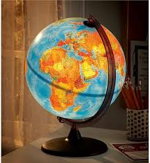 earth globes that light up world globe ls l design ideas