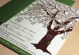 tree wedding invitations tree wedding invitations to inspire you how to create the wedding