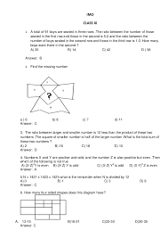 worksheet for imo classes 11 and 12
