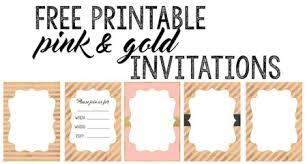 free printable invitation templates bridal shower party invitation templates free printables paper trail design