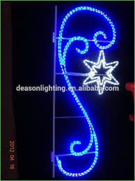 Large Commercial Christmas Decorations Uk by Lighting Light Post Christmas Decorations Stunning Blue Holiday