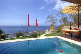 villa shambala lembongan ocean view villas accommodation and