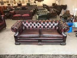 vintage leather chesterfield sofa fantastic vintage oxblood leather chesterfield dellbrook sofa