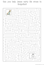 hard easter maze printable pages coloring quality puzzles