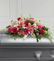 how to make a casket spray casket sprays funeral flowers florist one