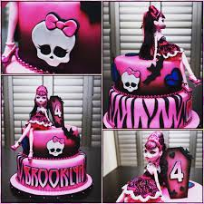 high cake ideas high draculaura cake pinteres