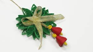 Home Made Xmas Decorations Paper Quilling Diy Christmas Quilling Ornament For Homemade Xmas