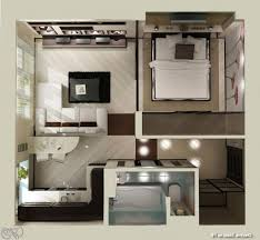 Micro Apartment Classy Small Apartment Plans On Pinterest Young Couple Apartment