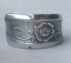 Silver Spoon Jewelry Making - spoon rings 4 steps with pictures