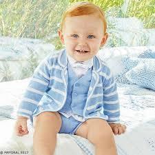Light Blue Vest Mayoral Newborn Baby Boy Light Blue Vest Shorts U0026 Striped Sweater