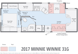 5 must see rv bunkhouse floorplans winnebagolife