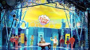 just revealed stage designs for broadway bound spongebob musical
