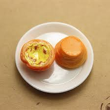 simulation 3d cuisine 10pcs 3d kawaii resin miniature simulation food egg tart diy craft