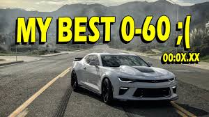 0 60 camaro ss 0 60 times exhaust and more 2016 camaro ss