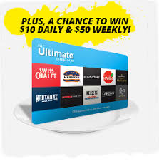 dinner gift cards contest win a 10 50 or 500 ultimate dining card