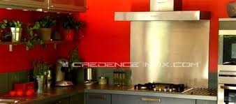 revetement mural cuisine inox attractive revetement mural cuisine inox 15 hotte design inox