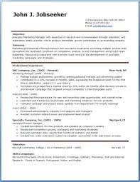 resume templates free doc resume sle free resume template account manager