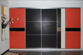 Black Closet Design Great Black Solid Polished Wardrobe Design Pertaining To Black