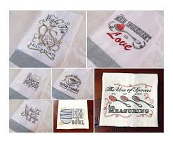 Kitchen Towel Embroidery Designs The Most Cool Embroidery Designs For Kitchen Towels Embroidery