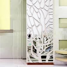 22 wall mirror decals reflective wall decals mirror like walltat modern mirror decal art mural wall sticker home decor diy ebay