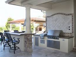Outdoor Kitchen Cabinet Kits by Outdoor Amusing Outdoor Kitchen Kits Within Stone Based Island