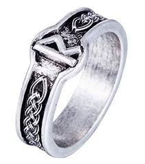 gothic jewelry rings images Norse viking rune rings for men amulet runic nordic ring punk jpg