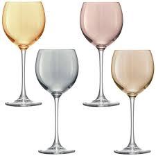 sagaform club schnapps glasses set of 4 colourful shot glasses