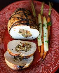 how to make roasted stuffed turkey breast for thanksgiving