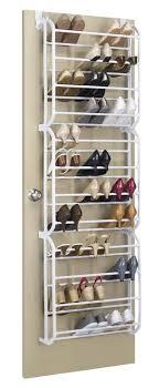 shoe organizer rebrilliant 12 tier 36 pair overdoor shoe organizer reviews