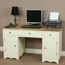 Compact Computer Desk Cotswold Cream Painted Shaker Solid Oak Compact Computer D U2026 Flickr