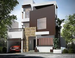 making of 3 storey house exterior sketchup 3d rendering