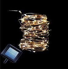 starry string lights solar lights outdoor string lights outdoor solar lights 33 ft