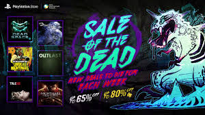 psn sale discounts spooky titles for halloween vg247