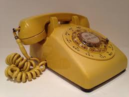 Desk Telephones Recycled Fashion Rotary Dial Telephones