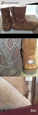 rugged ugg boots original ugg ugg womens brown boots brown ugg boots size 6 7 wore