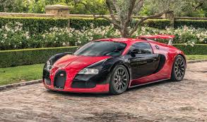 bentley black and red rarely seen red and black 2008 bugatti veyron for sale