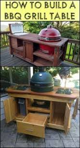 diy grill table plans homemade grill table 10 easy diy designs easy diy and crafts diy