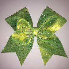 custom cheer bows leder bows