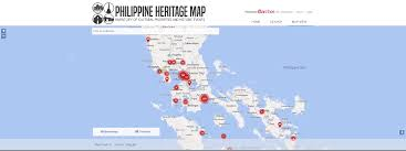 Philippine Map The Philippine Heritage Map Launched Asef Culture360 Asef Org