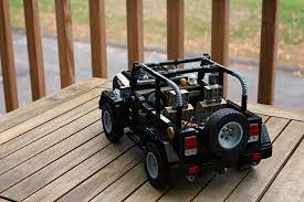 built jeep rubicon tell lego it has to build this impeccable fan made jeep wrangler
