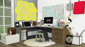 Office Corner Desks by Mxims Office 5 Corner Workspace U2013 Sims 4 Updates Sims 4