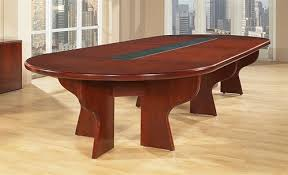 cherry wood conference table by office star
