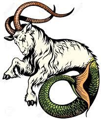capricorn astrological zodiac sign royalty free cliparts vectors
