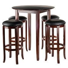 Round Pub Table Set Bar Pub Table Sets Amazon Com
