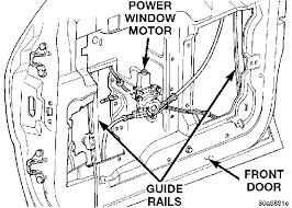 how do i replace the left door power window motor for a 1998 grand
