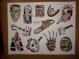 horror movie tattoo design photo 2 2017 real photo pictures
