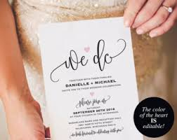 wedding invite wedding invitation etsy